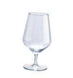 Empty wineglass isolated Stock Photography