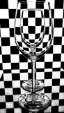 Empty wineglasses Stock Photos