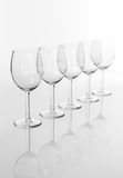 Empty wineglasses Royalty Free Stock Photo