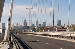 Empty  Świętokrzyski Bridge Stock Photo