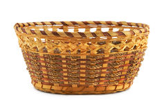 Empty wood basket Stock Photography