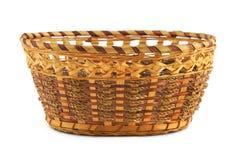 Empty wood basket Stock Photography