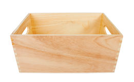 Empty Wood Box Royalty Free Stock Image