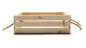 Empty wood box royalty free stock photo