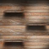 Empty wood shelf Royalty Free Stock Image