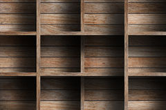 Empty wood shelf Stock Photo