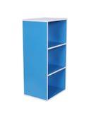 Empty wood shelf. Isolated on white background royalty free stock photos