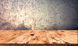 Empty wood table Royalty Free Stock Image