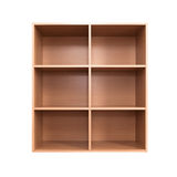 Empty wooden cabinet Stock Image