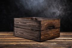 Free Empty Wooden Crate Royalty Free Stock Image - 99697226