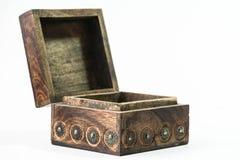 Empty wooden crate Stock Photos