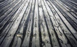 Empty wooden floor Stock Photography