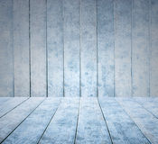 Empty wooden ice panel background and wooden ice floor or table Royalty Free Stock Photography