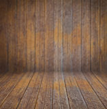 Empty wooden interior with back defocus for your design Royalty Free Stock Photography