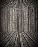 Empty Wooden Room Stock Image