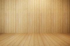 Empty wooden room Royalty Free Stock Images
