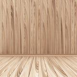 Empty Wooden Room Interior Royalty Free Stock Image