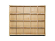 Empty wooden shelf Royalty Free Stock Photography