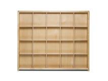 Empty wooden shelf Royalty Free Stock Photography