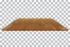 Empty wooden shelf Table  background. Vector empty wooden shelf Table  background Royalty Free Stock Photography