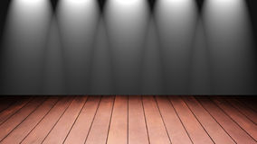 Empty wooden tabl Stock Photography