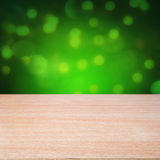 Empty wooden table Stock Images