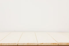 Empty wooden table Royalty Free Stock Photography
