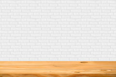 Empty wooden table Stock Photography