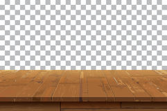 Empty wooden table top  background.Old vintage shelf tex. Tures.Used for display or montage your products Royalty Free Stock Images