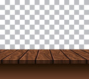 Empty Wooden Tabletop Stock Images
