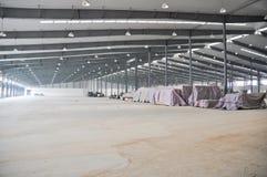 Empty workshop Stock Image