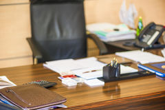 Empty workspace director Royalty Free Stock Photos