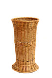 Empty woven basket Stock Photography