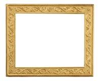 Empty yellow vintage frame Royalty Free Stock Photos