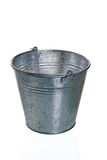 The empty zinced bucket Royalty Free Stock Images