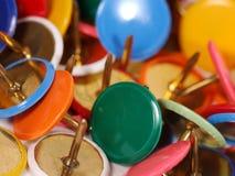 Empuje los contactos Fotografía de archivo libre de regalías
