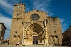 ` Empuries de Santa Maria Basilica de Castello d Imagens de Stock