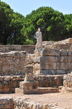 Empuries Greek ruins Royalty Free Stock Images