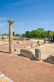 Empuries Roman ruins, Costa Brava Stock Image