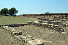 Empuries ruins Royalty Free Stock Photography