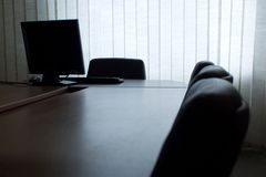 Empy Büro Stockfotos