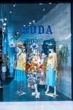 Emquatier的,曼谷,泰国, 2017年11月10日苏打商店 免版税库存图片