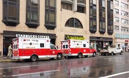 EMS Emergency Vehicle Ambulance Stock Photography