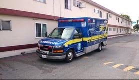 EMS Emergency Vehicle Ambulance Royalty Free Stock Photo