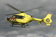 EMS helicopter Royalty Free Stock Photos