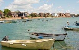 Emsworth的,汉普郡,英国沿海岸区 免版税库存照片