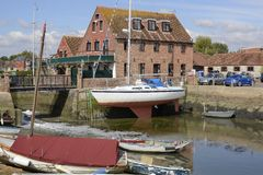 Emsworth in Hampshire. England Stock Image