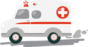 EMT Ambulance Stock Photography