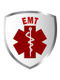 EMT shield sign Royalty Free Stock Images