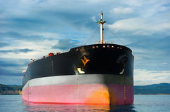Emtpy tanker ship Stock Images